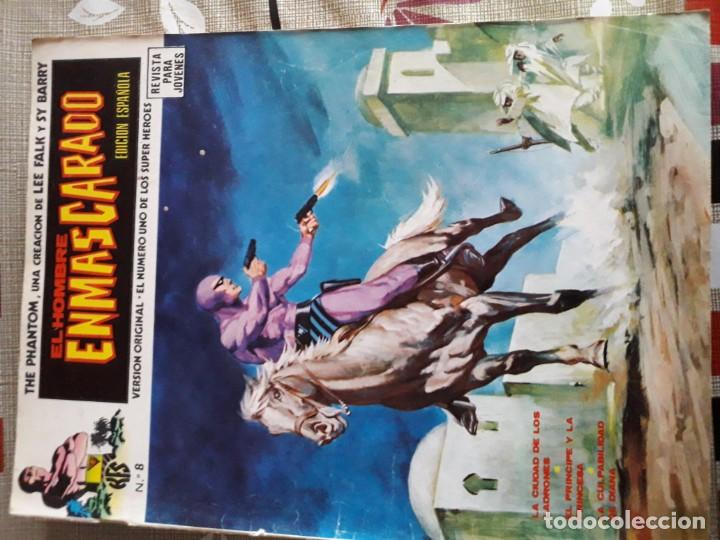 Cómics: EL HOMBRE ENMASCARADO 56 COMICS AÑO 1973¡¡¡¡¡¡¡ COMPLETA¡¡¡¡¡¡¡¡¡ - Foto 10 - 185831936