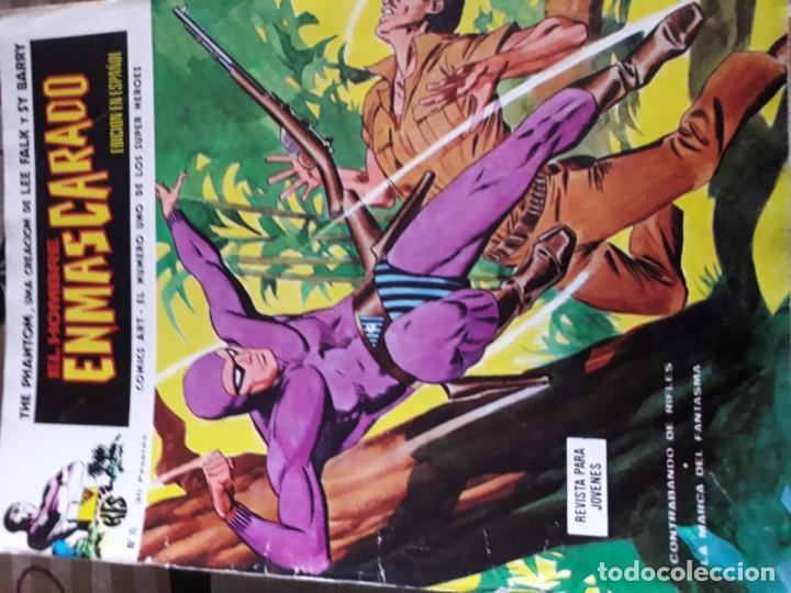 Cómics: EL HOMBRE ENMASCARADO 56 COMICS AÑO 1973¡¡¡¡¡¡¡ COMPLETA¡¡¡¡¡¡¡¡¡ - Foto 17 - 185831936