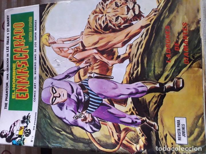 Cómics: EL HOMBRE ENMASCARADO 56 COMICS AÑO 1973¡¡¡¡¡¡¡ COMPLETA¡¡¡¡¡¡¡¡¡ - Foto 20 - 185831936