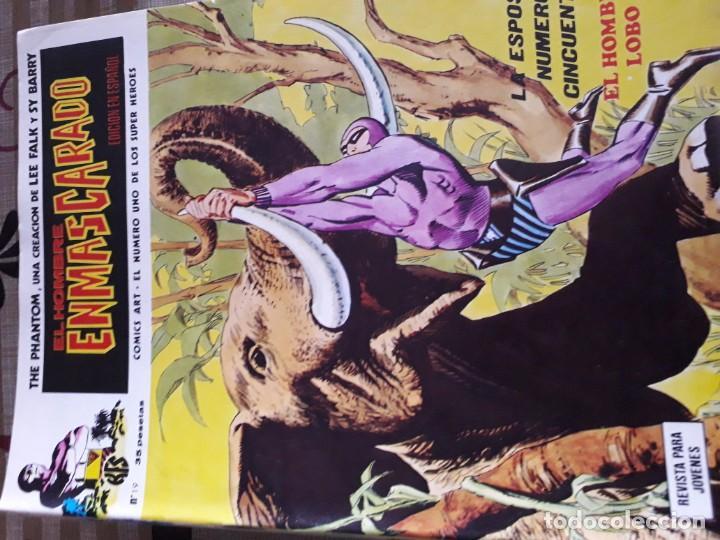 Cómics: EL HOMBRE ENMASCARADO 56 COMICS AÑO 1973¡¡¡¡¡¡¡ COMPLETA¡¡¡¡¡¡¡¡¡ - Foto 21 - 185831936