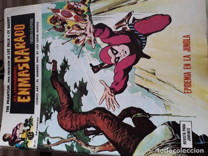 Cómics: EL HOMBRE ENMASCARADO 56 COMICS AÑO 1973¡¡¡¡¡¡¡ COMPLETA¡¡¡¡¡¡¡¡¡ - Foto 22 - 185831936