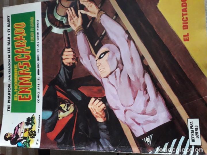 Cómics: EL HOMBRE ENMASCARADO 56 COMICS AÑO 1973¡¡¡¡¡¡¡ COMPLETA¡¡¡¡¡¡¡¡¡ - Foto 23 - 185831936