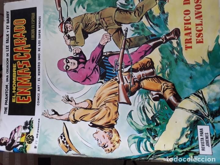 Cómics: EL HOMBRE ENMASCARADO 56 COMICS AÑO 1973¡¡¡¡¡¡¡ COMPLETA¡¡¡¡¡¡¡¡¡ - Foto 24 - 185831936