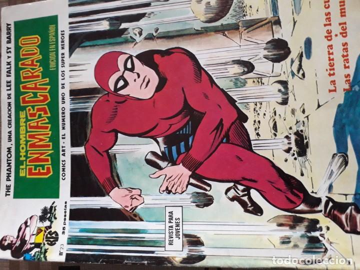 Cómics: EL HOMBRE ENMASCARADO 56 COMICS AÑO 1973¡¡¡¡¡¡¡ COMPLETA¡¡¡¡¡¡¡¡¡ - Foto 25 - 185831936