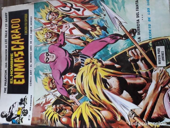 Cómics: EL HOMBRE ENMASCARADO 56 COMICS AÑO 1973¡¡¡¡¡¡¡ COMPLETA¡¡¡¡¡¡¡¡¡ - Foto 26 - 185831936