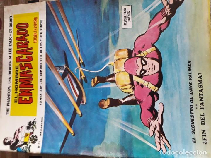 Cómics: EL HOMBRE ENMASCARADO 56 COMICS AÑO 1973¡¡¡¡¡¡¡ COMPLETA¡¡¡¡¡¡¡¡¡ - Foto 27 - 185831936