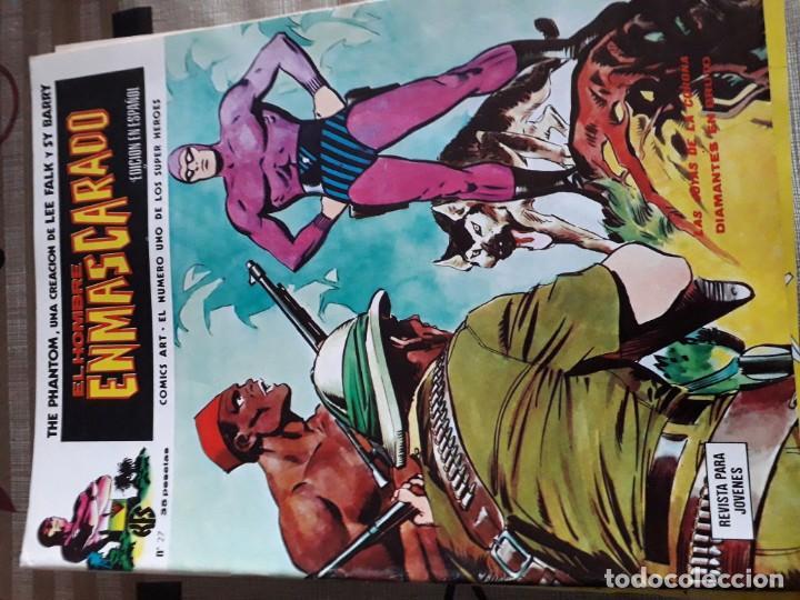Cómics: EL HOMBRE ENMASCARADO 56 COMICS AÑO 1973¡¡¡¡¡¡¡ COMPLETA¡¡¡¡¡¡¡¡¡ - Foto 29 - 185831936