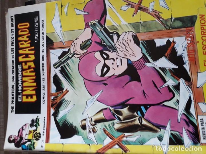 Cómics: EL HOMBRE ENMASCARADO 56 COMICS AÑO 1973¡¡¡¡¡¡¡ COMPLETA¡¡¡¡¡¡¡¡¡ - Foto 30 - 185831936