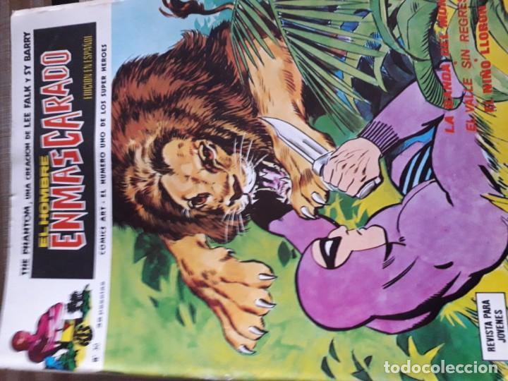 Cómics: EL HOMBRE ENMASCARADO 56 COMICS AÑO 1973¡¡¡¡¡¡¡ COMPLETA¡¡¡¡¡¡¡¡¡ - Foto 32 - 185831936