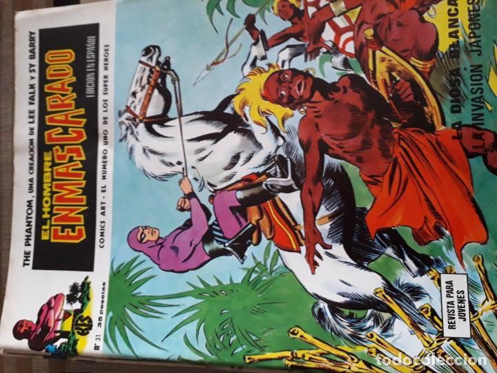 Cómics: EL HOMBRE ENMASCARADO 56 COMICS AÑO 1973¡¡¡¡¡¡¡ COMPLETA¡¡¡¡¡¡¡¡¡ - Foto 33 - 185831936