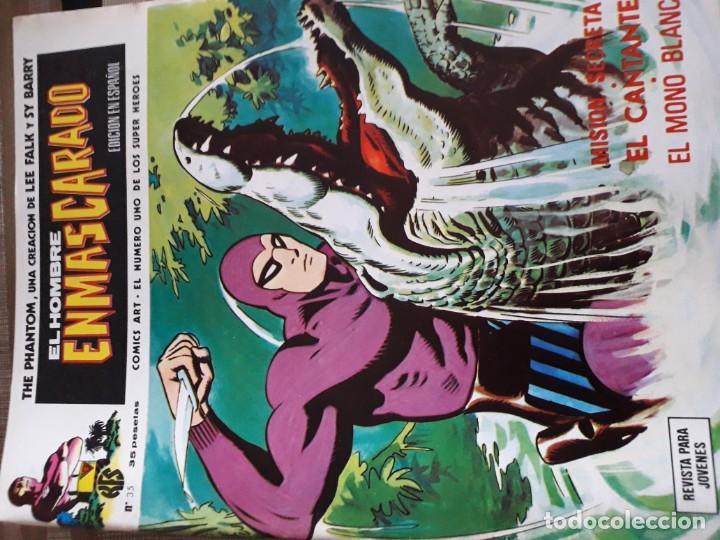 Cómics: EL HOMBRE ENMASCARADO 56 COMICS AÑO 1973¡¡¡¡¡¡¡ COMPLETA¡¡¡¡¡¡¡¡¡ - Foto 37 - 185831936