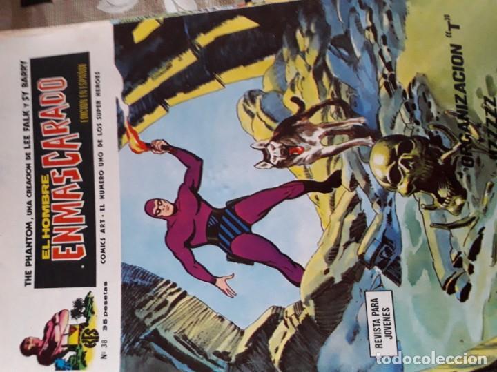 Cómics: EL HOMBRE ENMASCARADO 56 COMICS AÑO 1973¡¡¡¡¡¡¡ COMPLETA¡¡¡¡¡¡¡¡¡ - Foto 40 - 185831936