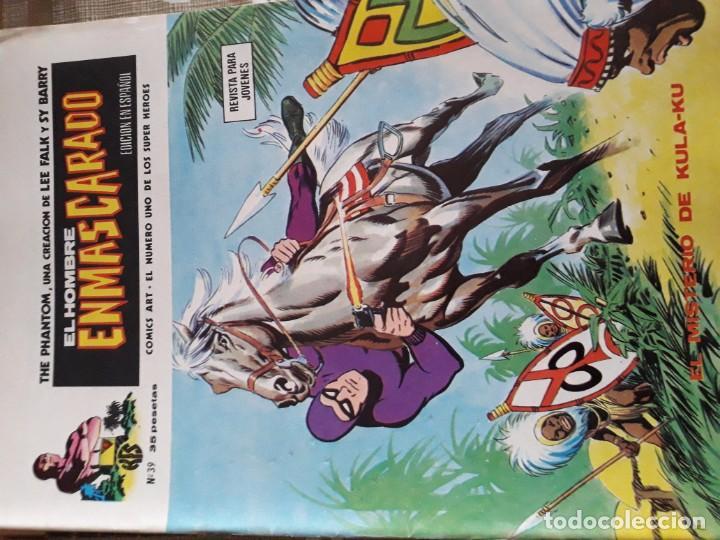 Cómics: EL HOMBRE ENMASCARADO 56 COMICS AÑO 1973¡¡¡¡¡¡¡ COMPLETA¡¡¡¡¡¡¡¡¡ - Foto 41 - 185831936