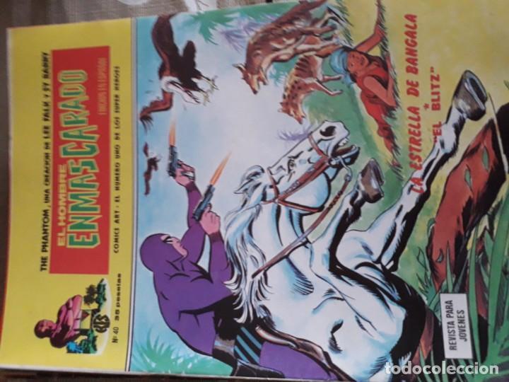 Cómics: EL HOMBRE ENMASCARADO 56 COMICS AÑO 1973¡¡¡¡¡¡¡ COMPLETA¡¡¡¡¡¡¡¡¡ - Foto 42 - 185831936
