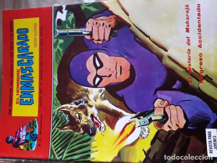 Cómics: EL HOMBRE ENMASCARADO 56 COMICS AÑO 1973¡¡¡¡¡¡¡ COMPLETA¡¡¡¡¡¡¡¡¡ - Foto 44 - 185831936