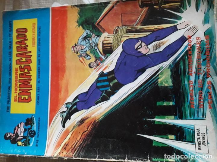 Cómics: EL HOMBRE ENMASCARADO 56 COMICS AÑO 1973¡¡¡¡¡¡¡ COMPLETA¡¡¡¡¡¡¡¡¡ - Foto 45 - 185831936