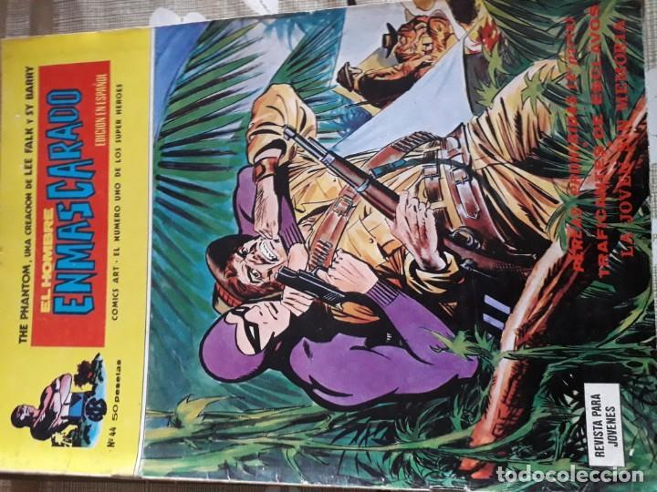 Cómics: EL HOMBRE ENMASCARADO 56 COMICS AÑO 1973¡¡¡¡¡¡¡ COMPLETA¡¡¡¡¡¡¡¡¡ - Foto 46 - 185831936
