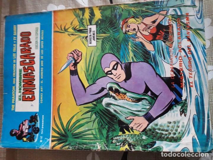 Cómics: EL HOMBRE ENMASCARADO 56 COMICS AÑO 1973¡¡¡¡¡¡¡ COMPLETA¡¡¡¡¡¡¡¡¡ - Foto 48 - 185831936