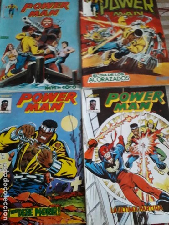 POWER MAN N-1-2-3 SURCO 2-8 TOTAL 5 COMICS (Tebeos y Comics - Vértice - Surco / Mundi-Comic)