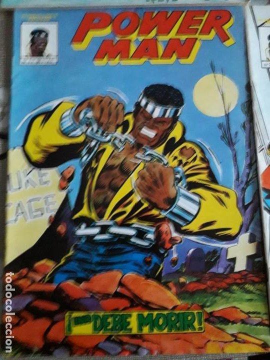 Cómics: POWER MAN N-1-2-3 SURCO 2-8 total 5 comics - Foto 2 - 185948692