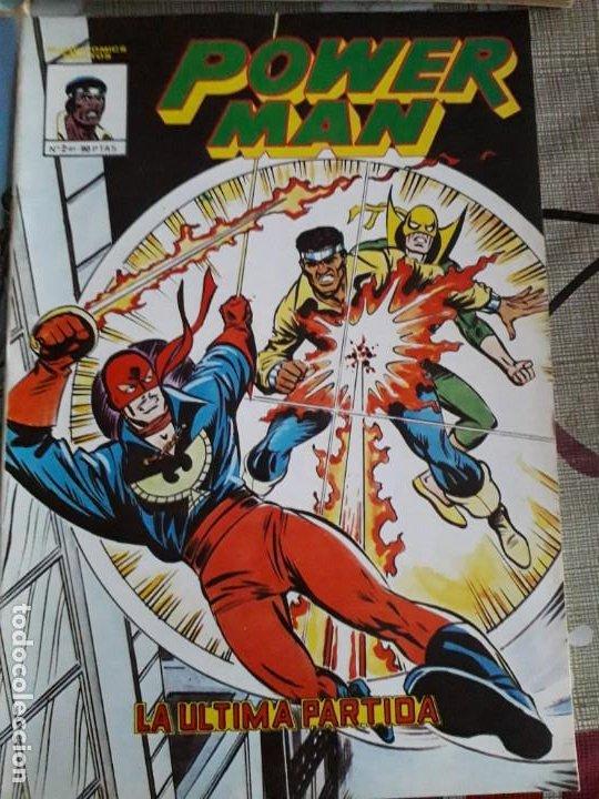 Cómics: POWER MAN N-1-2-3 SURCO 2-8 total 5 comics - Foto 3 - 185948692