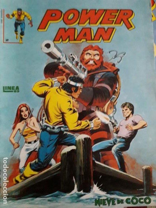 Cómics: POWER MAN N-1-2-3 SURCO 2-8 total 5 comics - Foto 4 - 185948692