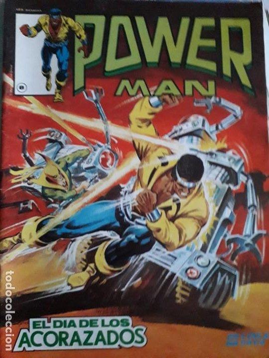 Cómics: POWER MAN N-1-2-3 SURCO 2-8 total 5 comics - Foto 5 - 185948692