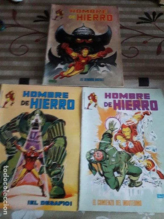 HOMBRE DE HIERRO N-2-4-5 BUEN ESTADO (Tebeos y Comics - Vértice - Surco / Mundi-Comic)