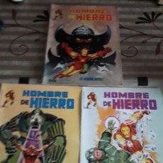 Cómics: HOMBRE DE HIERRO N-2-4-5 BUEN ESTADO. Lote 185951073