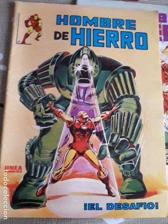 Cómics: HOMBRE DE HIERRO N-2-4-5 BUEN ESTADO - Foto 2 - 185951073