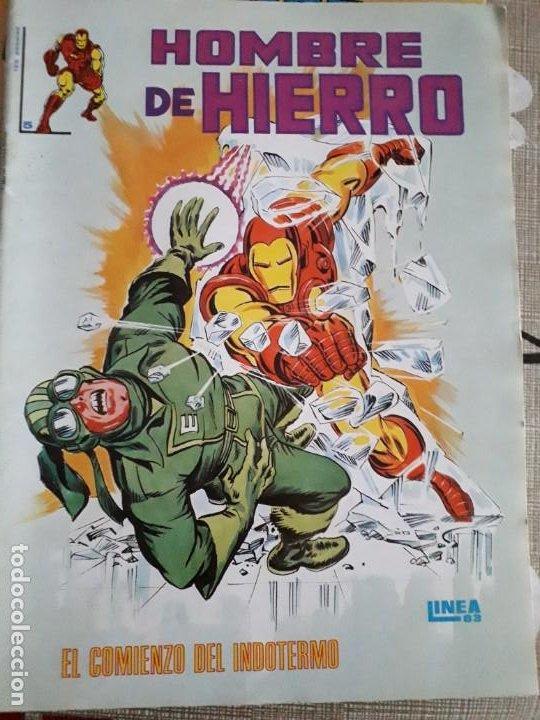 Cómics: HOMBRE DE HIERRO N-2-4-5 BUEN ESTADO - Foto 3 - 185951073