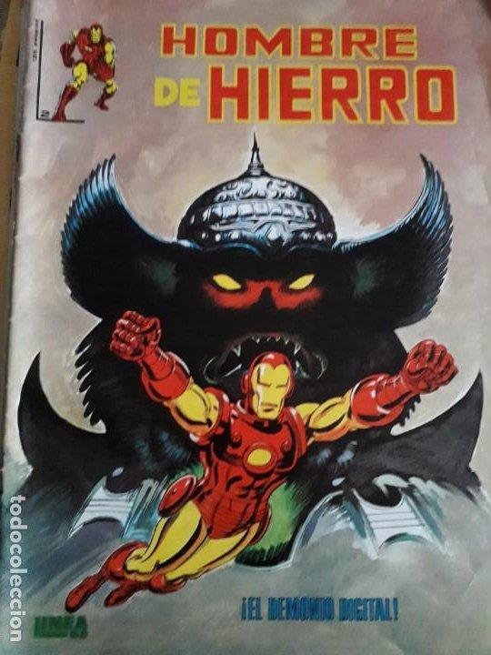 Cómics: HOMBRE DE HIERRO N-2-4-5 BUEN ESTADO - Foto 4 - 185951073