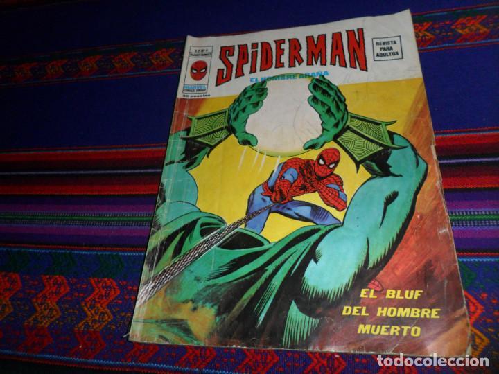 VÉRTICE VOL. 2 SPIDERMAN Nº 6. 1974. 35 PTS. EL BLUF DEL HOMBRE MUERTO. (Tebeos y Comics - Vértice - V.2)