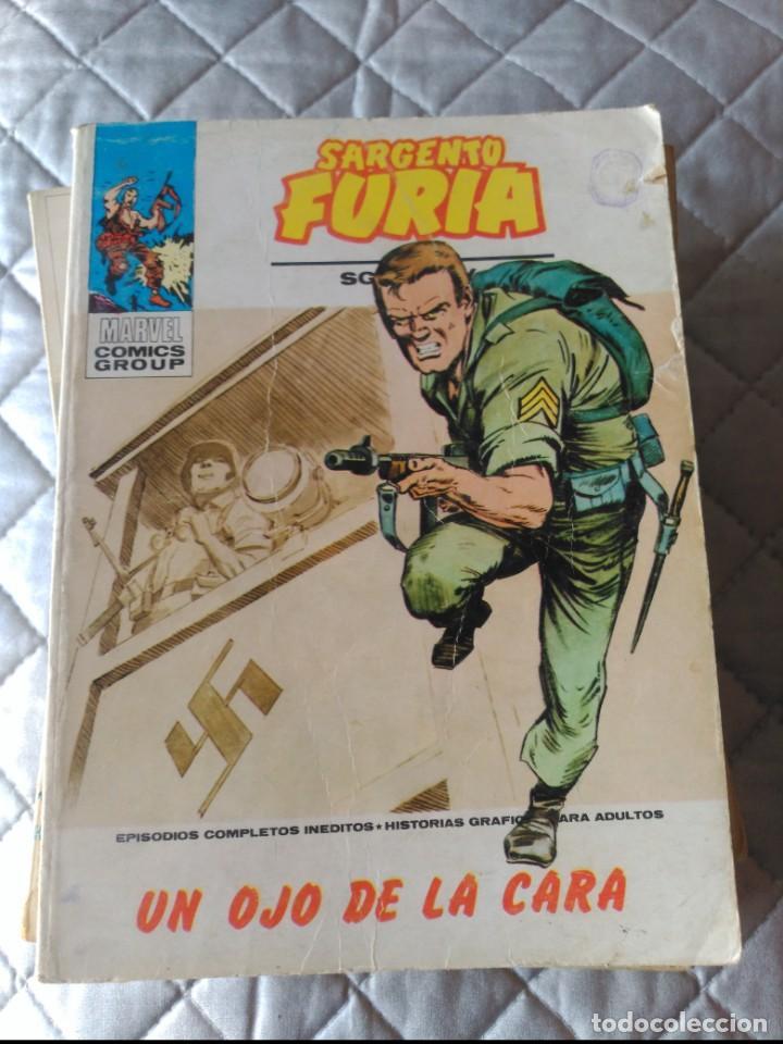 SARGENTO FURIA VOL.1 Nº 19 (Tebeos y Comics - Vértice - Furia)