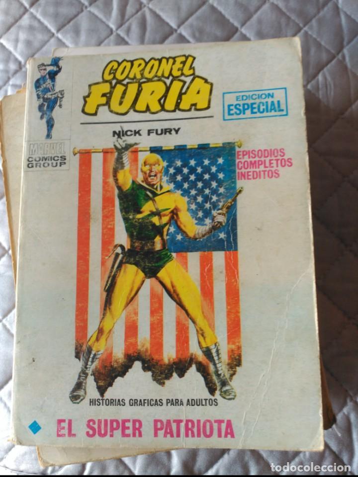 CORONEL FURIA VOL.1 Nº 6 (Tebeos y Comics - Vértice - Furia)