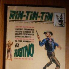 Cómics: TEBEO - COMIC - RIN TIN TIN - Nº 18 - VÉRTICE - EL FUGITIVO. Lote 186032968