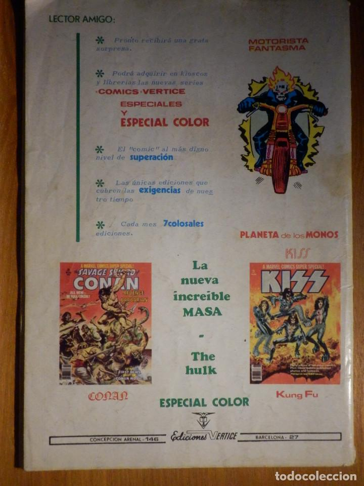 Cómics: Tebeo - Comic - THOR Nº 38 VERTICE TACO - 1970 - El día que el trueno fracasó - Marvel - Foto 2 - 186033006