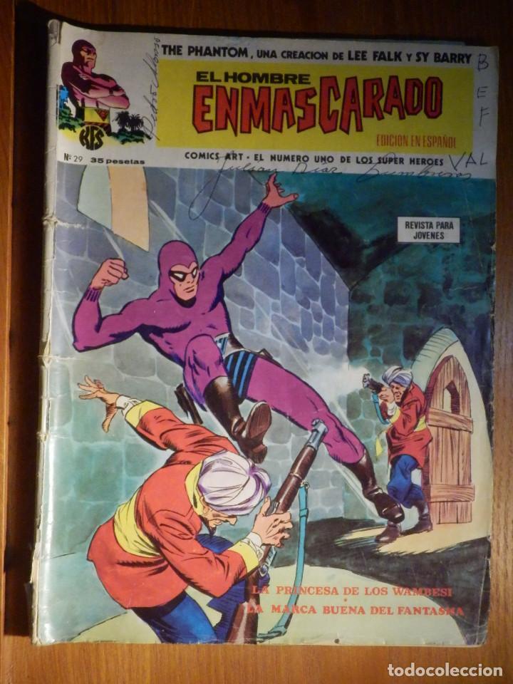 TEBEO - COMIC - EL ENMASCARADO - V.1 - Nº 29 - COMICS ARTS (Tebeos y Comics - Vértice - Hombre Enmascarado)