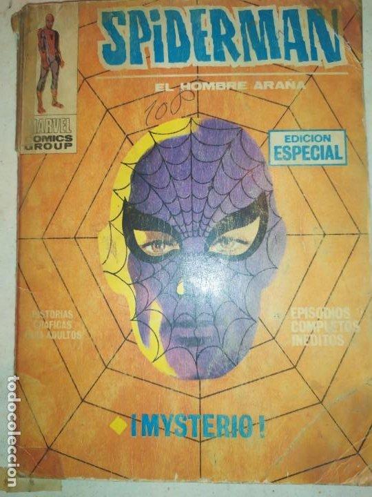 SPIDERMAN SPIDER-MAN EL HOMBRE ARAÑA MARVEL COMICS GROUP EDICIÓN ESPECIAL VÉRTICE 1970 (Tebeos y Comics - Vértice - Otros)