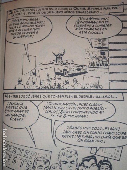 Cómics: SPIDERMAN SPIDER-MAN EL HOMBRE ARAÑA MARVEL COMICS GROUP EDICIÓN ESPECIAL VÉRTICE 1970 - Foto 2 - 186143192