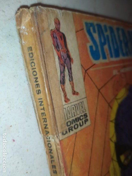 Cómics: SPIDERMAN SPIDER-MAN EL HOMBRE ARAÑA MARVEL COMICS GROUP EDICIÓN ESPECIAL VÉRTICE 1970 - Foto 5 - 186143192