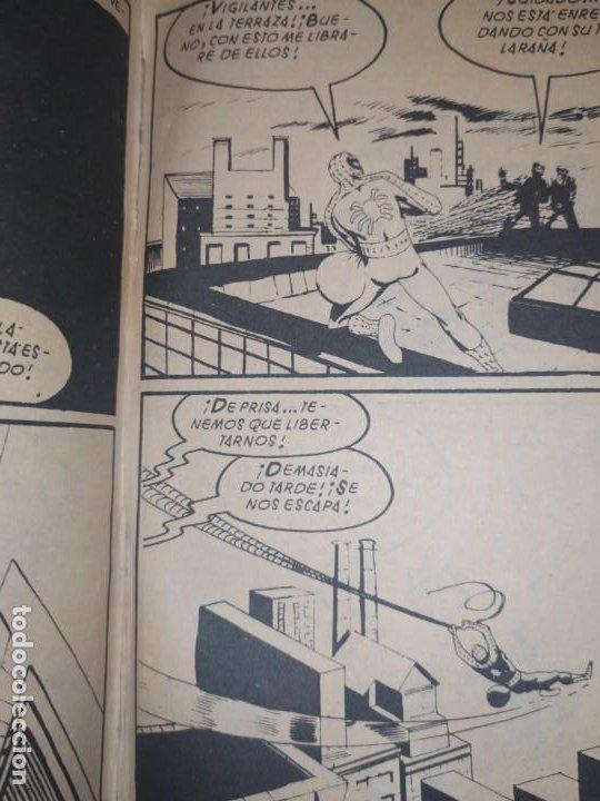 Cómics: SPIDERMAN SPIDER-MAN EL HOMBRE ARAÑA MARVEL COMICS GROUP EDICIÓN ESPECIAL VÉRTICE 1970 - Foto 9 - 186143192