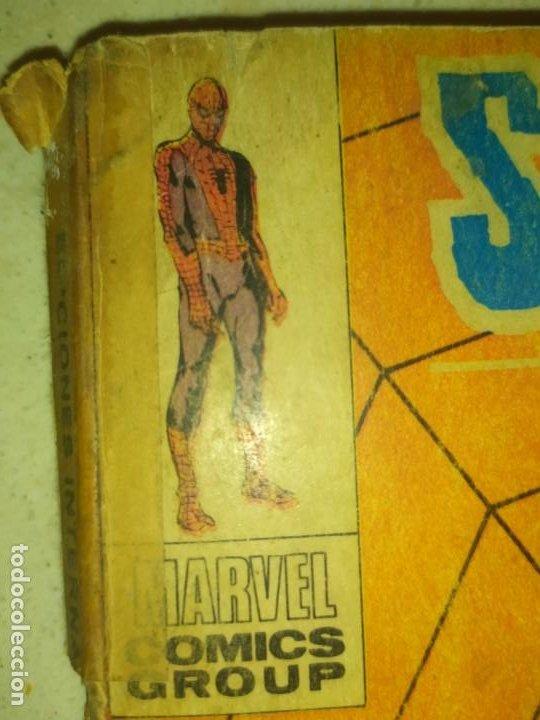 Cómics: SPIDERMAN SPIDER-MAN EL HOMBRE ARAÑA MARVEL COMICS GROUP EDICIÓN ESPECIAL VÉRTICE 1970 - Foto 14 - 186143192