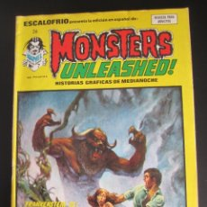 Cómics: ESCALOFRIO (1973, VERTICE) 26 · 15-II-1975 · MONSTERS UNLEASHED 7. Lote 186186166