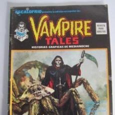 Cómics: ESCALOFRIO (1973, VERTICE) 10 · 15-VI-1974 · VAMPIRE TALES 2. Lote 186220197