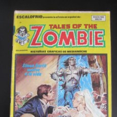 Cómics: ESCALOFRIO (1973, VERTICE) 29 · 31-III-1975 · TALES OF THE ZOMBIE 9. Lote 186220465