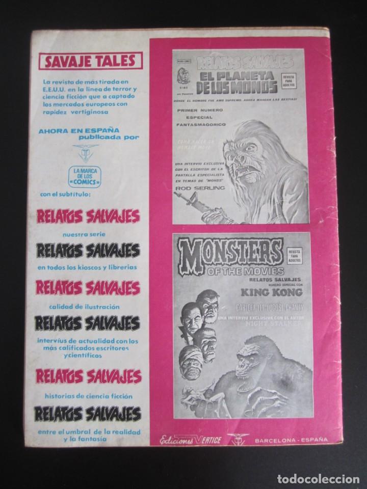 Cómics: ESCALOFRIO (1973, VERTICE) 29 · 31-III-1975 · TALES OF THE ZOMBIE 9 - Foto 2 - 186220465