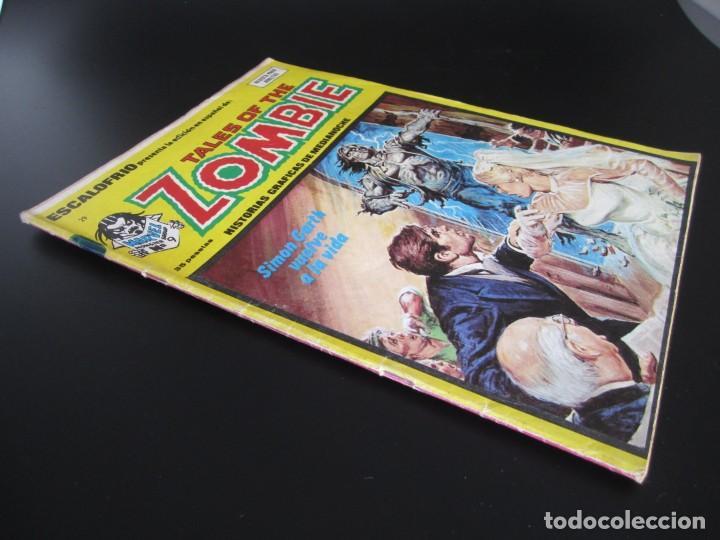 Cómics: ESCALOFRIO (1973, VERTICE) 29 · 31-III-1975 · TALES OF THE ZOMBIE 9 - Foto 3 - 186220465