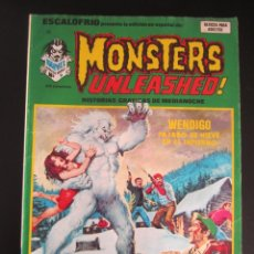 Cómics: ESCALOFRIO (1973, VERTICE) 34 · 15-VI-1975 · MONSTERS UNLEASHED 9. Lote 186220690