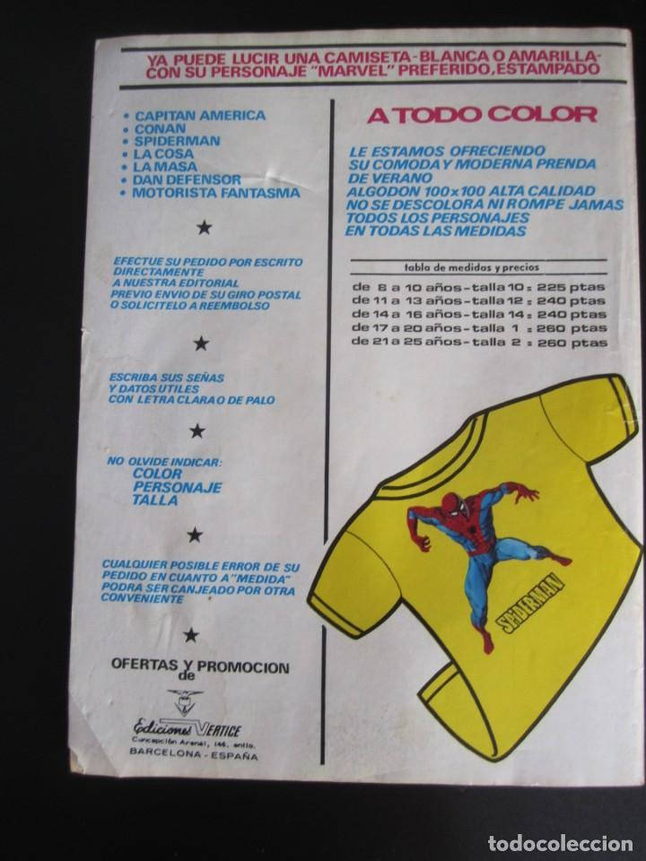 Cómics: ESCALOFRIO (1973, VERTICE) 34 · 15-VI-1975 · MONSTERS UNLEASHED 9 - Foto 2 - 186220690